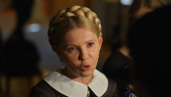 Юлия Тимошенко в Раде. Архивное фото