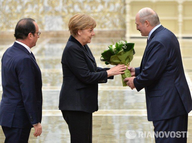 Встреча нормандской четверки в Минске
