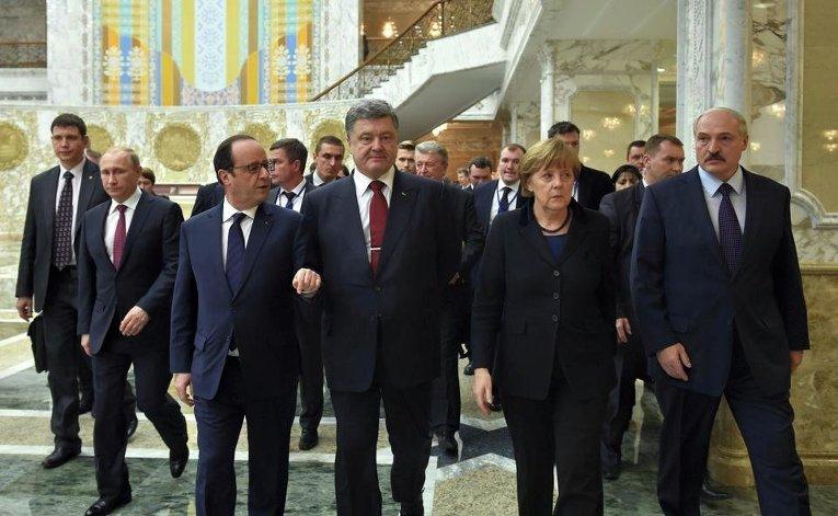 Нормандская четверка и Лукашенко