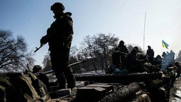 Штаб АТО: ополченцы за сутки применяли минометы и гранатометы