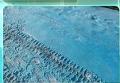 В Челябинке, РФ, выпал голубой снег