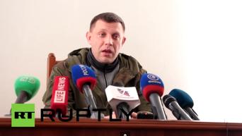 Про Дебальцево в минских соглашениях нет ни слова - Захарченко. Видео