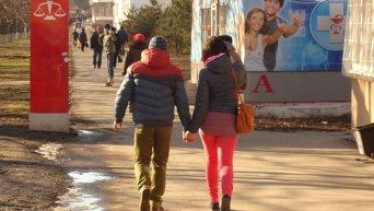 День Валентина в Мариуполе