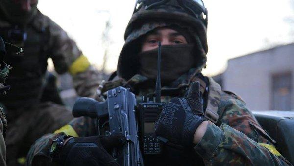 Боец батальона Азов