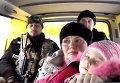 Эвакуация жителей прифронтового села в Донецкой области