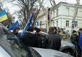 Митинг в Одессе,16 февраля 2015