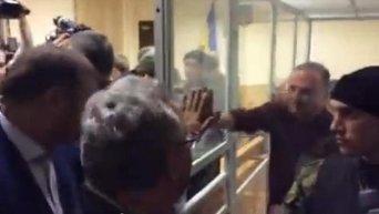 Ефремов в зале суда. Видео