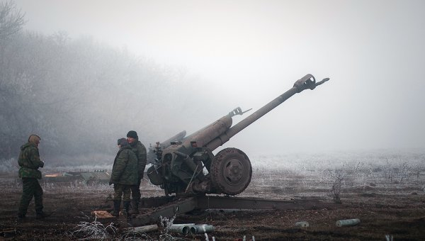 Ополченцы в Донбассе. Архивное фото