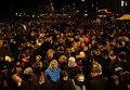 Почтение памяти жертв теракта в Копенгагене