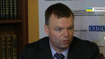Наблюдатели ОБСЕ надеются попасть в Дебальцево. Видео