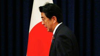Синдзо Абэ. Архивное фото