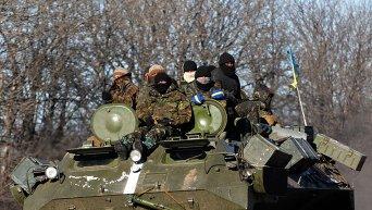 Украинские военные 17 февраля 2015 года