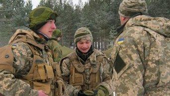 Учения курсантов ВСУ в Норвегии. Архивное фото
