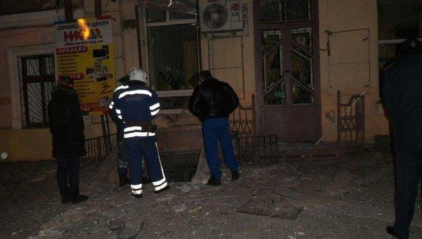 Взрыв в Одессе на Большой Арнаутской