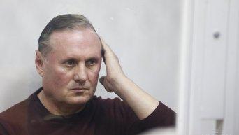 Александр Ефремов в Печерском райсуде в Киеве