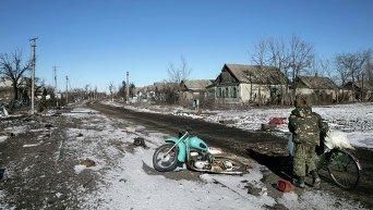 Ситуация в Никишино Донецкой области 17 февраля 2015 года