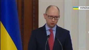 Яценюк поручил разобраться с оплатой электричества на Донбассе. Видео