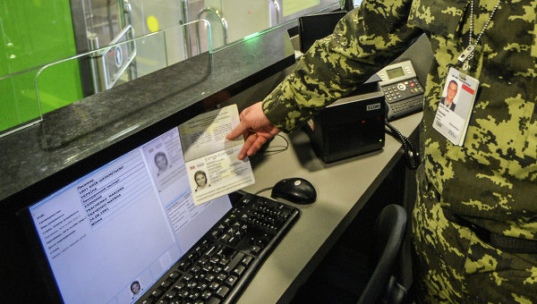 В Борисполе показали, как работает система проверки биометричесских паспортов