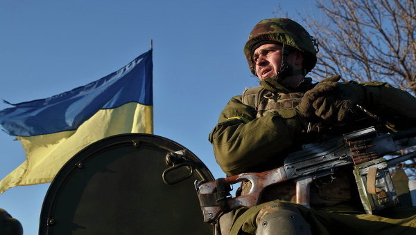 Украинские военные в зоне АТО. Архивное фото