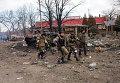 Ополченцы в Дебальцево, 19 февраля 2015