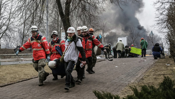 Ситуация в Киеве 20 февраля 2014 года. Архивное фото