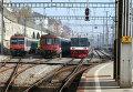 Поезда в Швейцарии