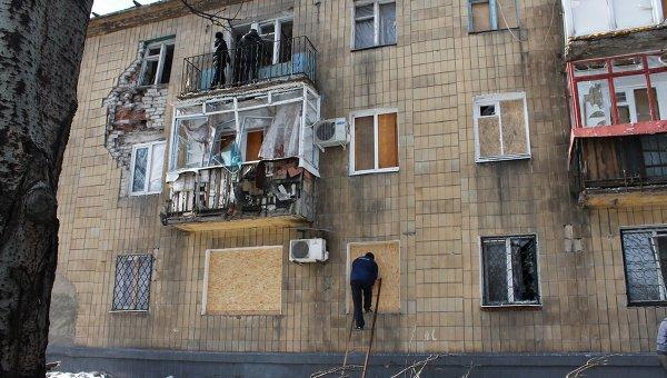 Ночь в Донецке прошла напряженно