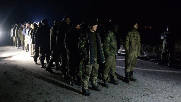 Обмен пленными между силовиками и ополченцами. Архивное фото