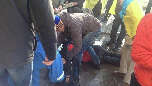 Взрыв в Харькове