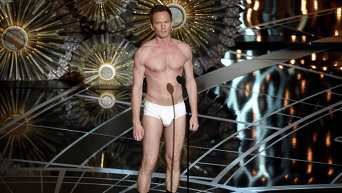 Ведущий Нил Патрик Харрис на церемонии вручения Оскар