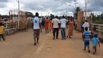Открытая граница Либерии и Сьерра-Леоне