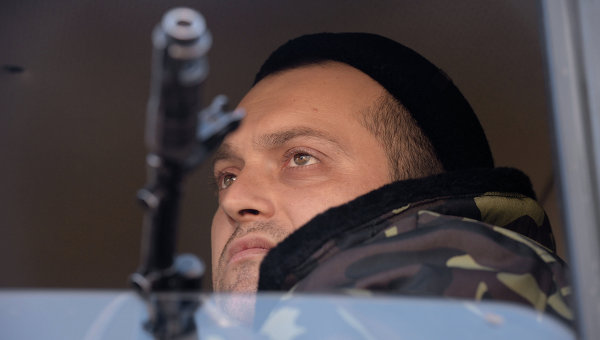 Боец ополчения ДНР. Архивное фото