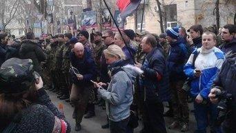Марш правых в центре Киева
