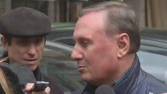 Ефремов о ходе судебного заседания. Видео