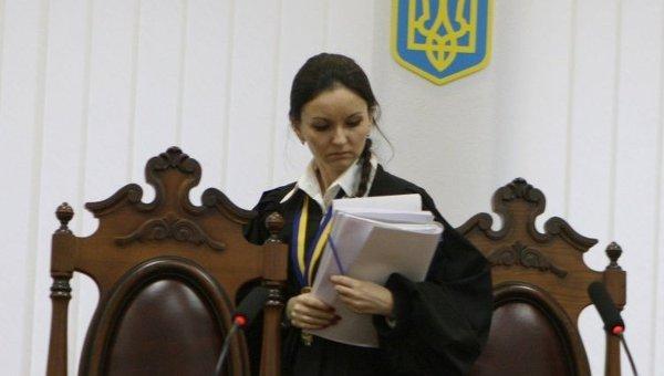 Судья Печерского районного суда Оксана Царевич. Архивное фото