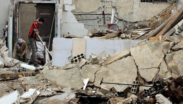 Ситуация в Сирии, город Дума в провинции Дамаск. Архивное фото