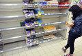 Дефицит товаров в магазинах