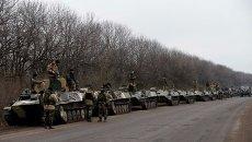 Украинские военные близ Артемовска. Архивное фото