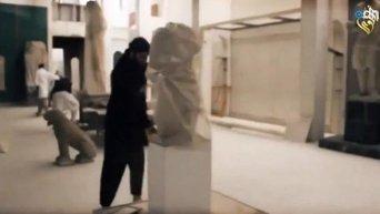 Вандализм Исламского государства. Видео