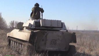 Представители ОБСЕ подтверждают отвод тяжелых вооружений на Донбассе. Видео