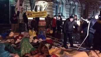 Разгон финансового Майдана