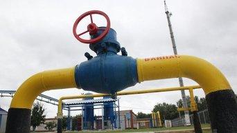 Труба на дожимно-компрессорной станции (ДКС)