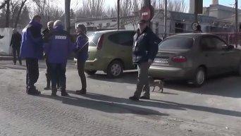 ОБСЕ: Наблюдатели фиксируют процесс отвода войск от линии фронта. Видео