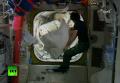 Выход астронавтов NASA в открытый космос. Видео