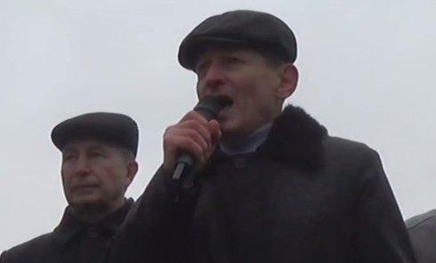 Митинг шахтеров в Киеве. Видео