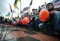 Митинг шахтеров. Архивное фото