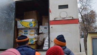 Гуманитарная помощь Северодонецку из Житомирской области