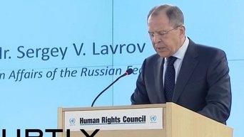 Сергей Лавров в Женеве
