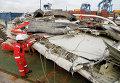 Останки разбившегося в Индонезии лайнера Air Asia
