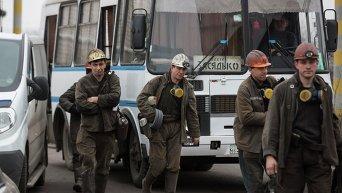 Спасательная операция на шахте им. Засядько